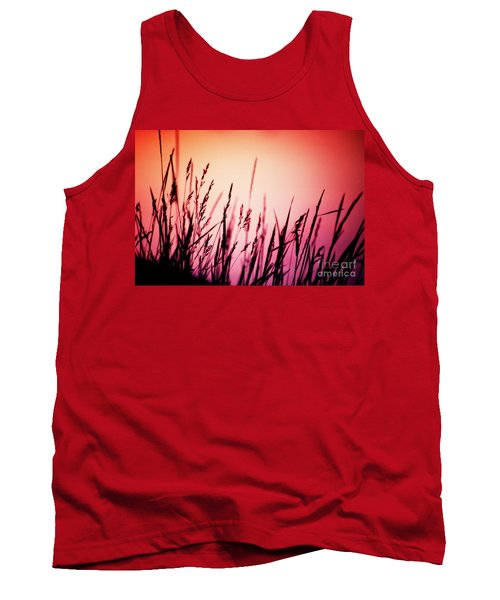 Tank Top featuring the photograph Wild Grasses by Scott Kemper