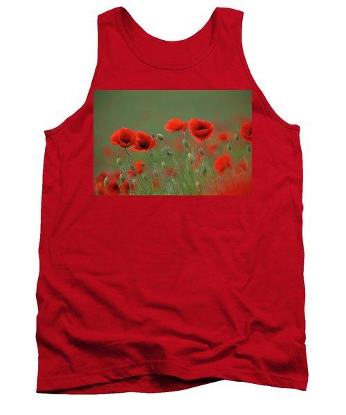 Wild Poppies Tank Top