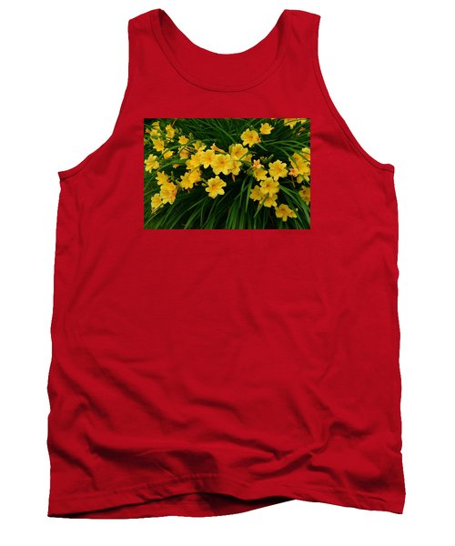 Tank Top featuring the photograph Wildflower Bouquet by Linda Edgecomb