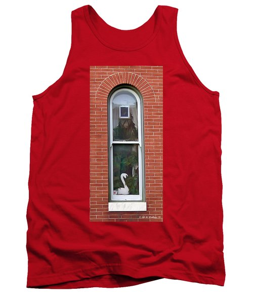 Tank Top featuring the photograph Window Dressing by Brian Wallace