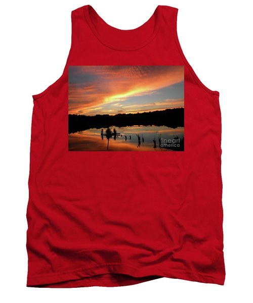 Windows From Heaven Sunset Tank Top