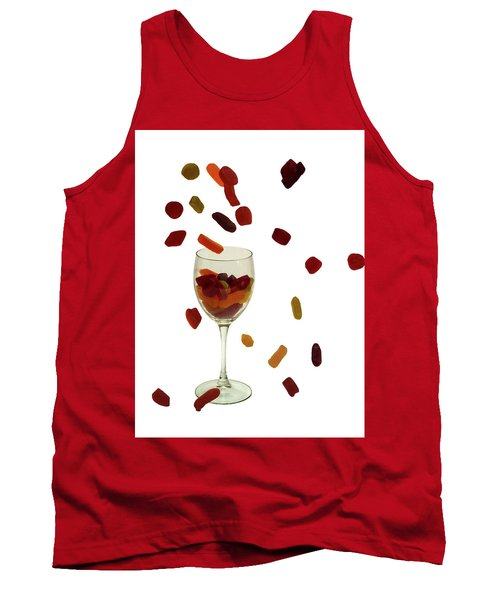 Tank Top featuring the photograph Wine Gums Sweets by David French