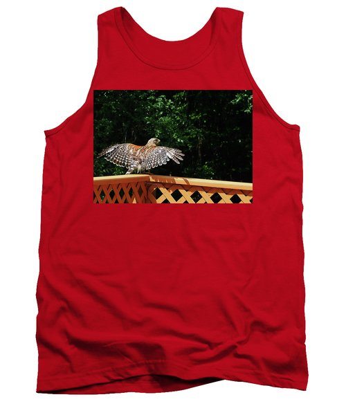 Wingspan Of Hawk Tank Top