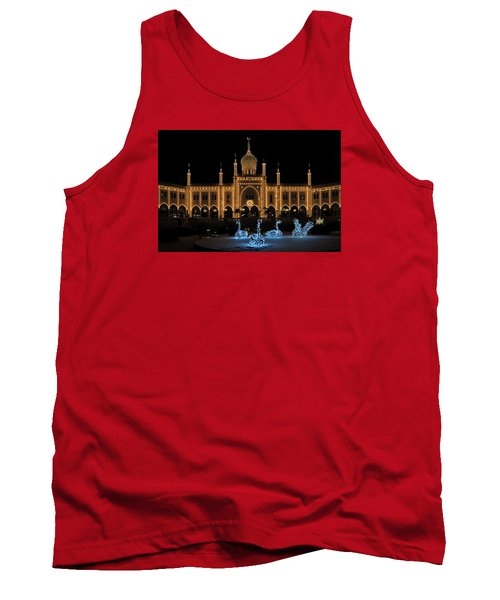 Winter In Tivoli Gardens Tank Top