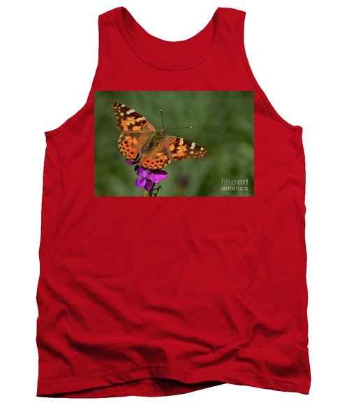 Tank Top featuring the photograph Winter Visitor by Debby Pueschel