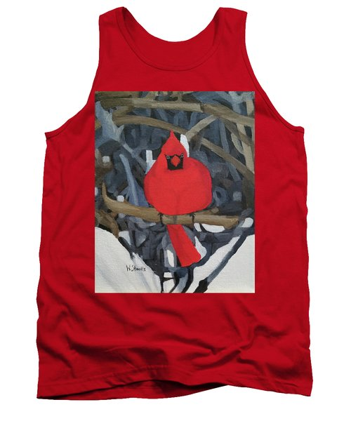 Winters Refuge Tank Top by Wendy Shoults