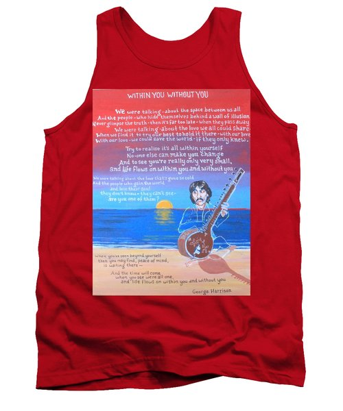 Within You Without You Tank Top