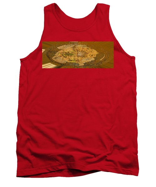Tank Top featuring the photograph Wood Abstracted by Lenore Senior