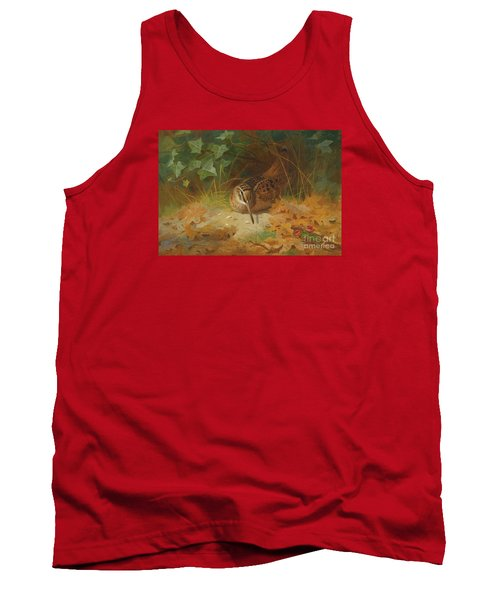 Woodcock Tank Top by Celestial Images