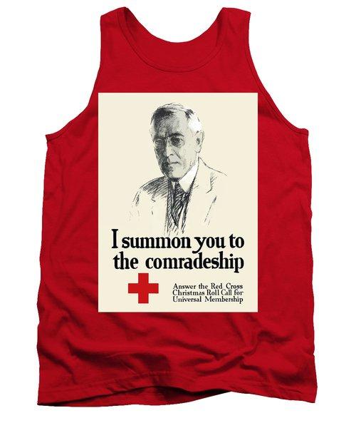 Woodrow Wison Red Cross Roll Call Tank Top
