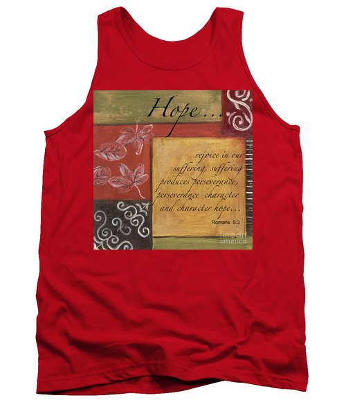 Words To Live By Hope Tank Top