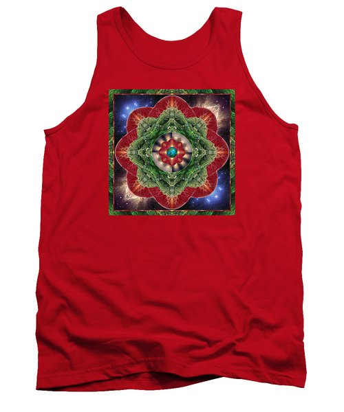 Tank Top featuring the photograph World-healer by Bell And Todd