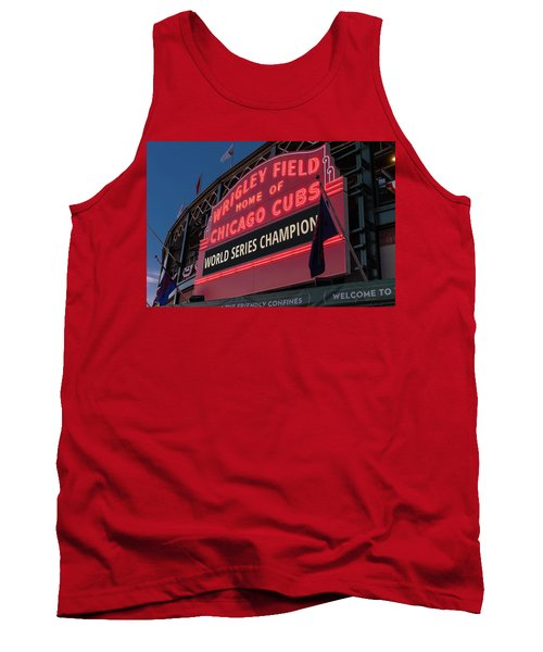Wrigley Field World Series Marquee Tank Top