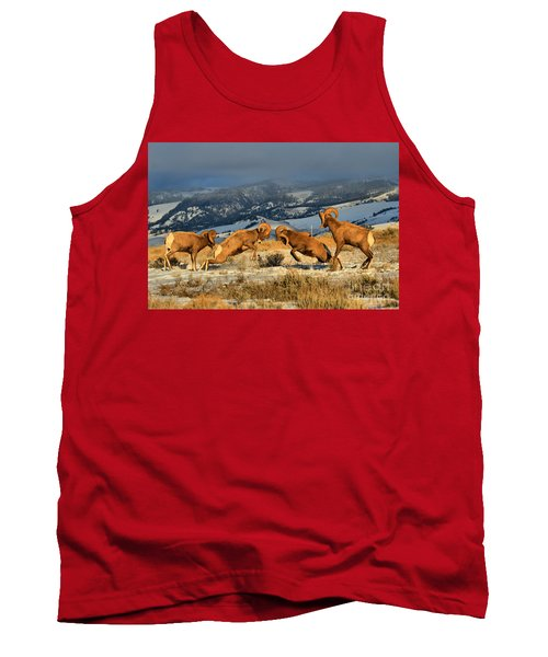 Wyoming Bighorn Brawlers Tank Top
