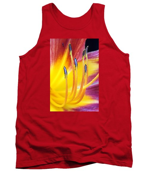 Yellow And Red Tank Top