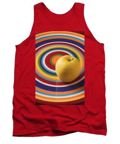 Yellow Apple  Tank Top