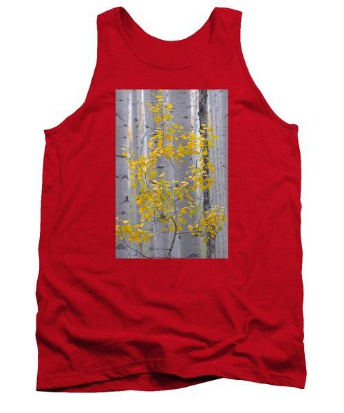 Yellow Aspen Tree Tank Top