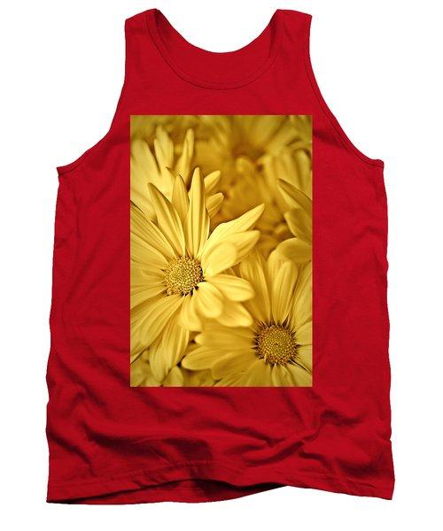 Yellow Daisies Tank Top