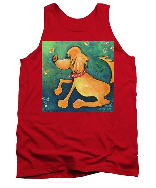 Yellow Dog Tank Top