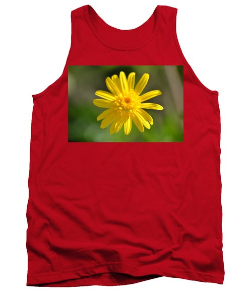 Yellow Fireworks Tank Top