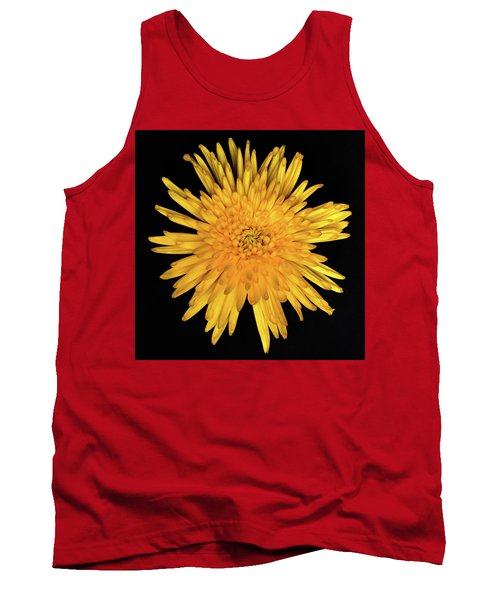 Yellow Flower Macro Tank Top
