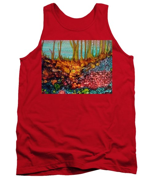 Yellow Trees Tank Top