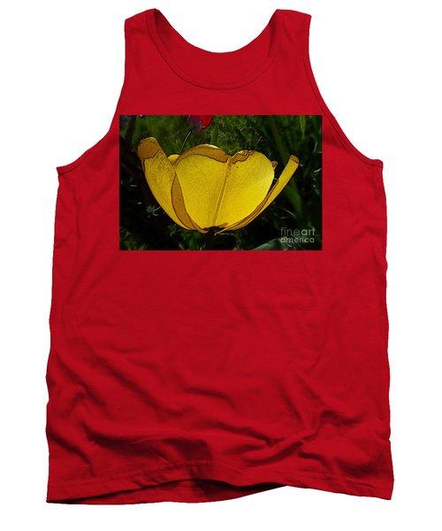 Yellow Tulip 2 Tank Top
