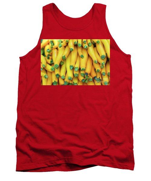 Yellow Zucchini Tank Top