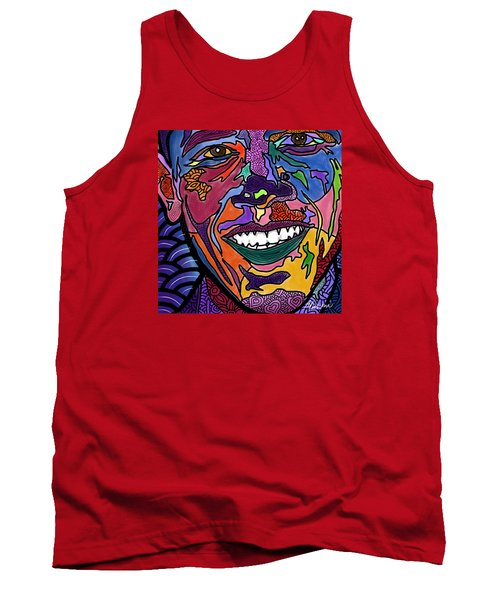 Yes We Can Obama Tank Top
