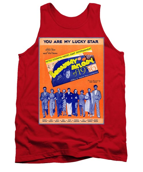 You Are My Lucky Star Tank Top