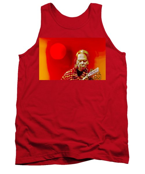 You Keep Me Searching Tank Top by Mal Bray