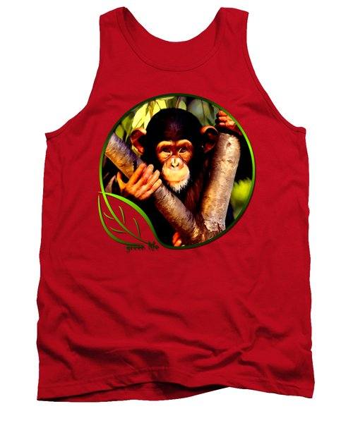 Young Chimpanzee Tank Top