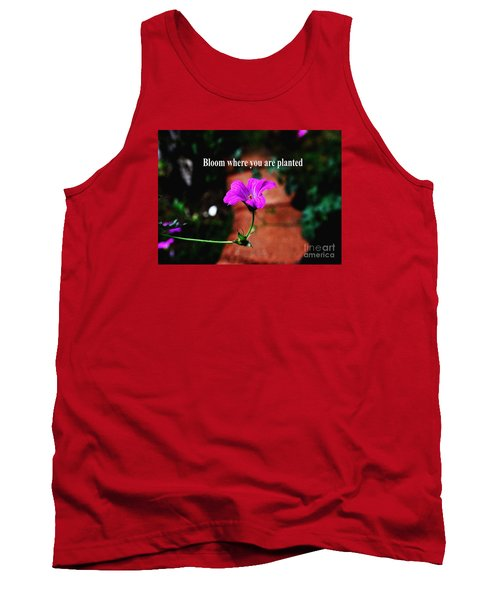 Your Station In Life Tank Top