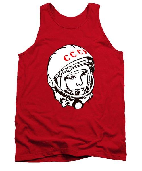 Yuri Gagarin Cccp Tank Top