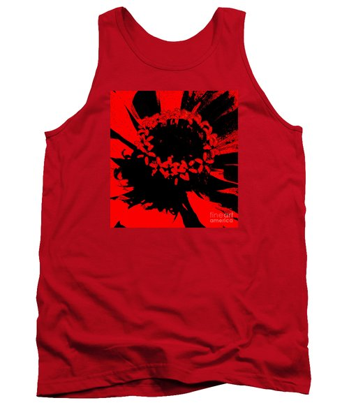 Tank Top featuring the photograph Zinnia Crown by Jeanette French