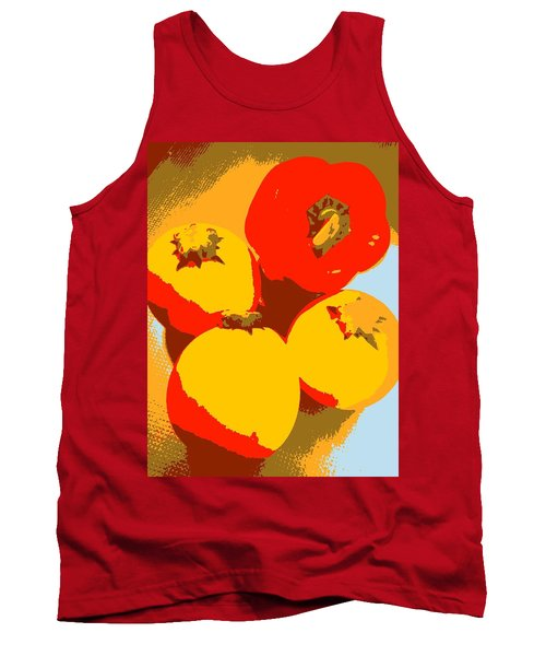 Zucchini And Bell Pepper Tank Top