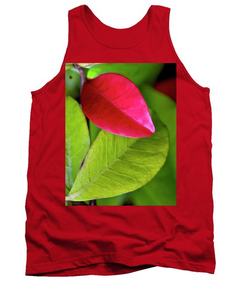 Colours. Red Tank Top