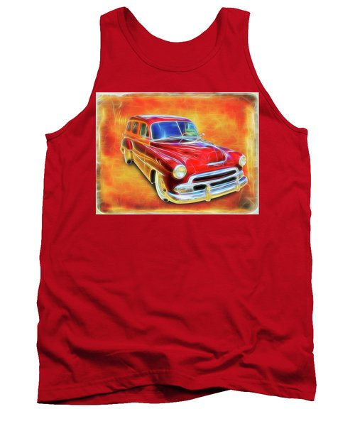 1951 Chevy Woody Tank Top