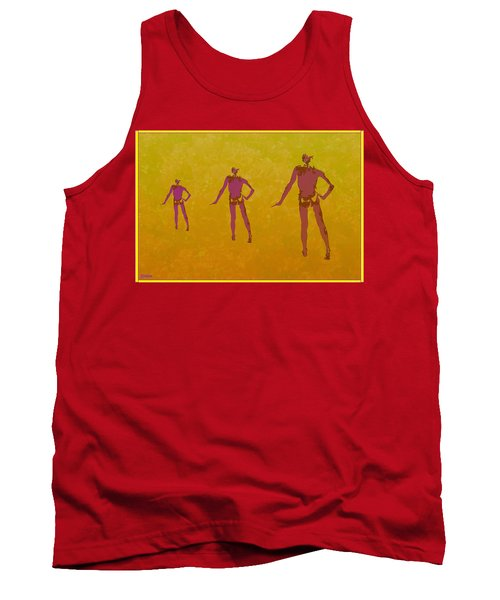 Male In Perspective Tank Top