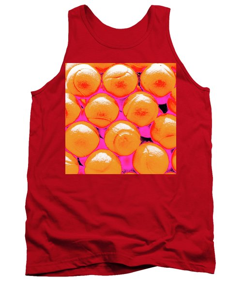 Pop Art Tennis Balls Tank Top