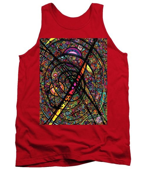 25 Faces Tank Top