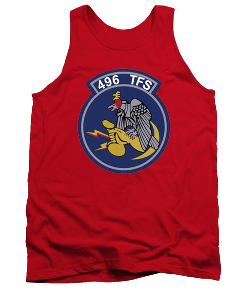 496th Tactical Fighter Squadron  Tank Top