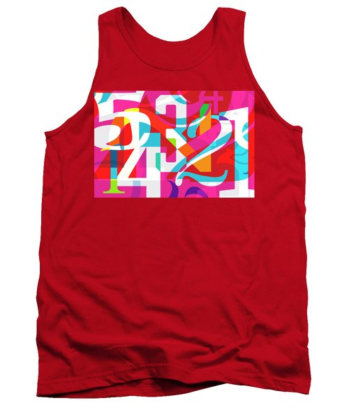 54321 Tank Top