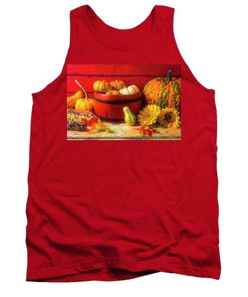 A Lovely Autumn Still Life Tank Top