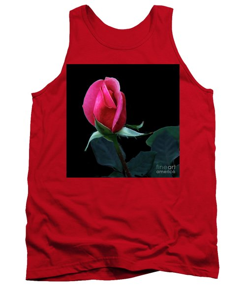 A Special Rose Bud Tank Top