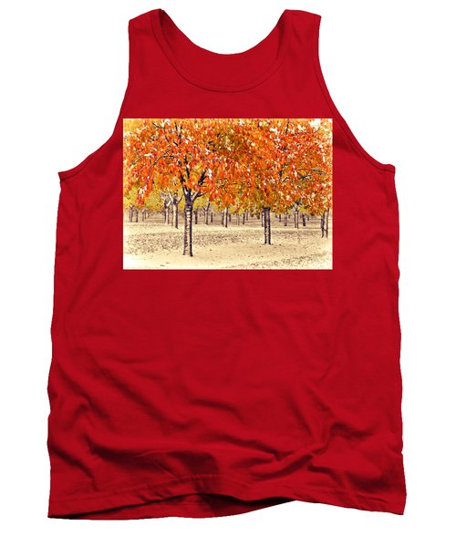 A Touch Of Winter Tank Top