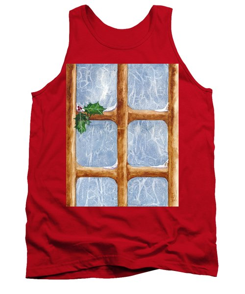 A Visit From Jack Frost Tank Top