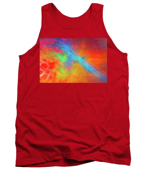 Abstract 51 Tank Top