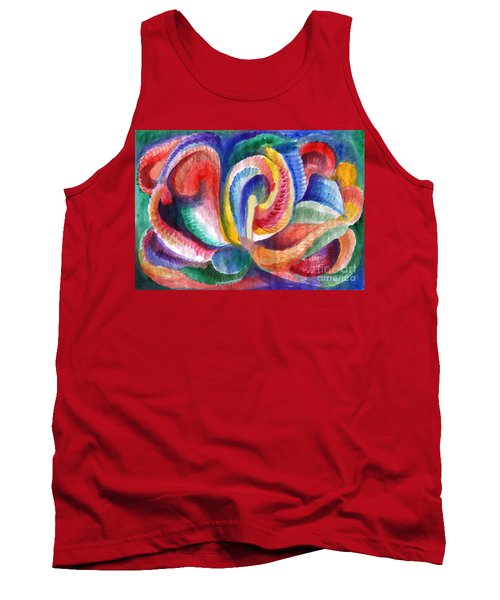 Abstraction Bloom Tank Top