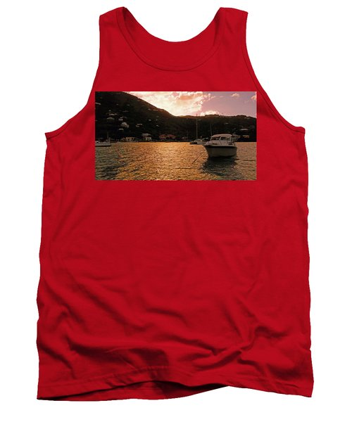 Abstractions Of Coral Bay Tank Top
